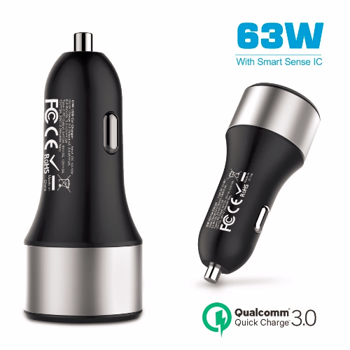 63w usb c pd car charger