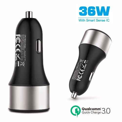 36w usb c pd car charger