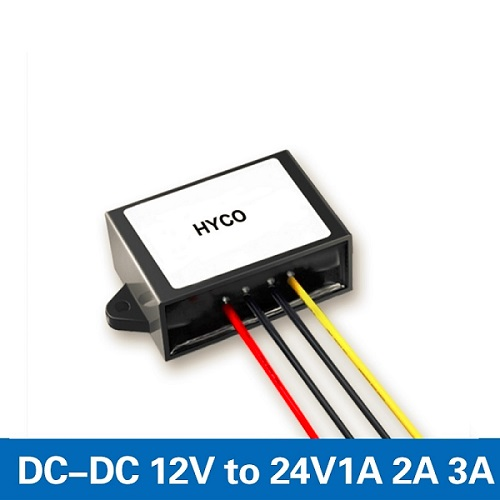 12V to 24V 1A/2A/3A