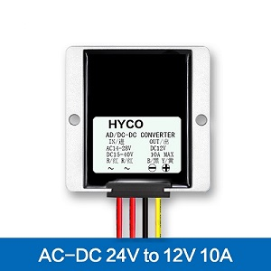 24VAC to 12VDC 8A/10A