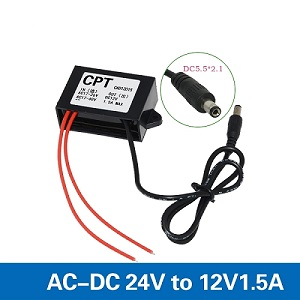 24VAC to 12VDC 1.5A 1A