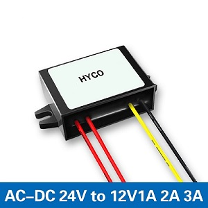 24VAC to 12VDC 1A 2A 3A