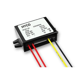 24VAC to 24VDC 1A/1.5A/2A