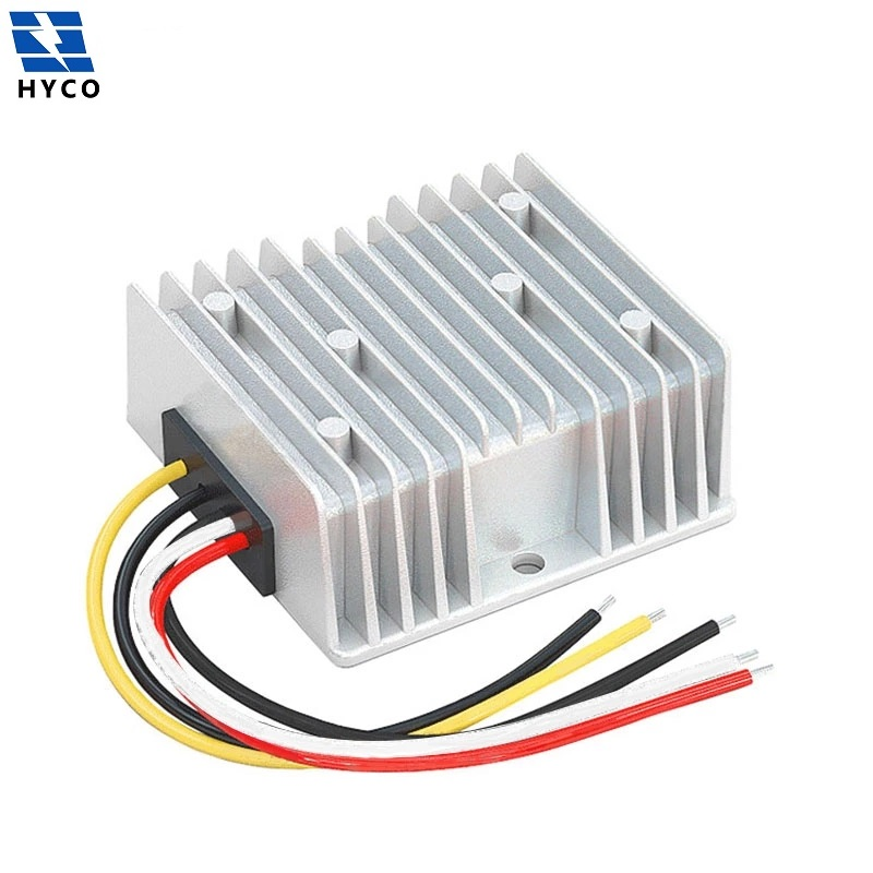 30-90V to 12V 5A 10A 15A 20A DC DC Buck Power Converter 48V 60V 72V 84V to 12V Step Down Voltage Module with ACC Enable Cable