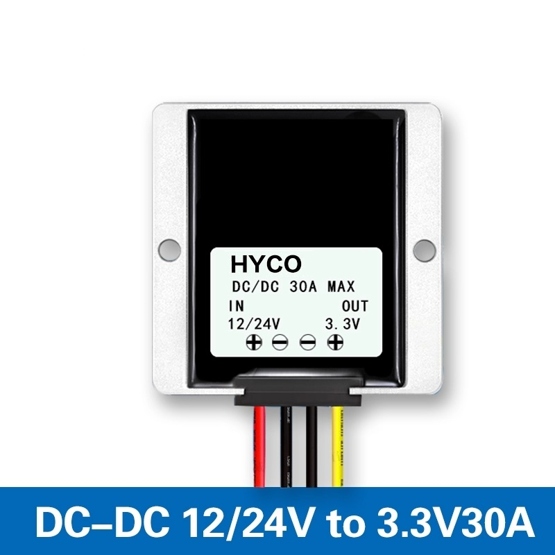 DC 12V 24V to 3.3V 30A DC/DC Step-down Converter for voltage vehicle